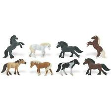 Safari Ltd - Toobs Ponies Toob 681104 8 Piece Miniature Set Free Us Shipping
