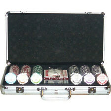 Set completo 300 Fiches High Stakes Poker 14 gr.