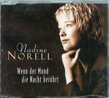 Nadine Norell   CD-SINGLE   WENN DER MOND DIE NACHT BERÜHRT