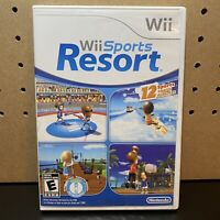 Wii Sports Resort (Nintendo Wii, 2009) Complete Tested Working