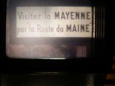 FILM Amateur 9,5 couleurs muet de 250 m - LA MAYENNE 1976 - Boîtier Métal - TBE