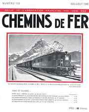Chemins de fer n°139 -Mai-Juin 1946, revue AFAC