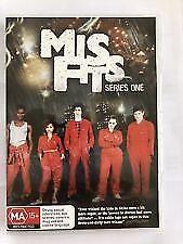 Misfits : Series 1 (DVD, 2-Disc Set) Region 4 Very Good Condition