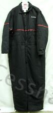 DELTA Airlines XL Insulated Mechanic OVERALLS One Piece Zip Embroidery Trim
