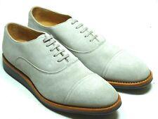 Prime Shoes Herrenschuhe Rahmengenäht Echtleder Oxford Cap Toe 307/310 grey Gr.8