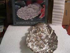 1994 INTERNATIONAL SILVER COMPANY - SILVERPLATED SANTA DISH