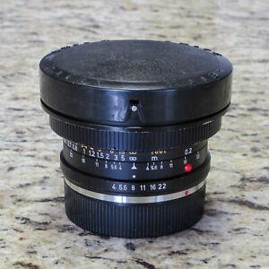 Leica Super Angulon R 21mm f4 Lens - 3-Cam - Recent DAG CLA