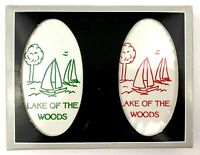 Lake of the Woods Deluxe Playing Card 2 Deck Set Bridge Canasta NEW