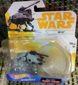 Star Wars THE CLONE WARS HOT WHEELS STARSHIP DIE-CAST AT-TE NEW