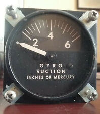 Cessna Gryo Suction Gauge Airborne 1610-1