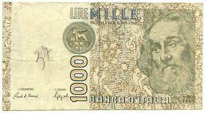 1000 LIRE FALSO D'EPOCA MARCO POLO LETTERA F 20/10/1988 qBB