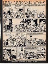 Bob Morane  le collier de Civa dans FA planches 5 et 6
