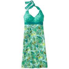 NWOT Athleta Printed Pack Everywhere Dress- Green SIZE 6P 6 P  #553308 v89