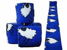 Bandagen Polarfleece Antipilling Fleece Beinschutz Pferd 4er Set Fleecebandagen