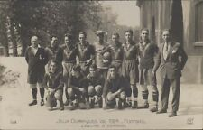 FOOTBALL JUEGOS OLIMPICOS 1924 EQUIPE DE ESPAGNE 158  REAL PHOTO