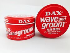 DAX HAIR WAX WAVE AND GROOM RED HAIR DRESS STYLE 99g x2