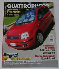 QUATTRORUOTE 9/2003 ALFA ROMEO 156 SPORTWAGON 2.4 JTD - SAAB 9-3 CABRIO AERO