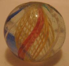 Old German Victorian Handmade Glass Swirl Marble - Nice Condition!