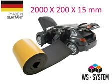 2 Stk Selbstklebend Schaum Isolierung Schallschutz Matte Haus KFZ PKW Motorhaube