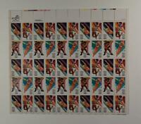 US SCOTT 2082 - 2085 PANE OF 50 OLYMPICS STAMPS 20 CENT FACE MNH