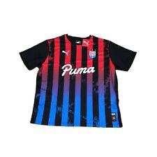 PUMA Men's Levels Acid Bleach Soccer #10 Jersey Shirt XXL 2xl