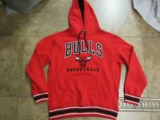 Vtg Rare Unk Chicago Bulls Hoodie Sweatshirt Pullover Xl Men Sport Nba 90s Usa