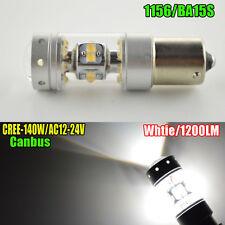 1X AC12-24V CREE 1200LM 140W 1156 P21W BA15S LED Backup Light Car Reversing Bulb