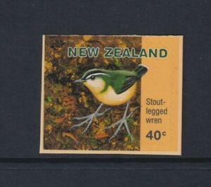 New Zealand - 1996, 40c Stout Legged Wren Bird stamp - Self Adhesive - SG 2035