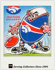 1999 Pace Farms Eggs AFL Sports Footy Fact Card Western Bulldogs