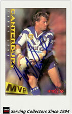 1996 Dynamic Rugby League Series 2 MVP Autographed Card --TERRY LAMB
