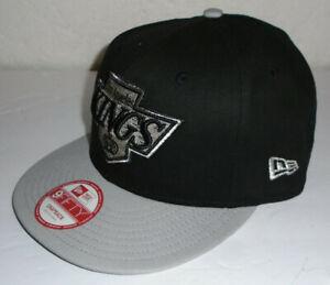 Los Angeles Kings New Era 9Fifty Vintage Hockey Snapback Hat Adult Med/Large