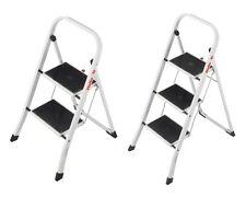 Hailo K20 Stahl Klapptritt Tritt Haushalt Leiter Klappleiter 2 & 3 Stufen