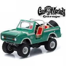 Greenlight 1976 Ford Bronco Gas Monkey Garage 1:64 Green 44700-D