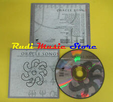 CD ORACLE SONGS compilation 1998 (C5*) no mc lp dvd vhs