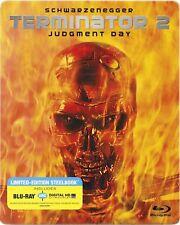 T2 Terminator 2: Judgement Day Blu-Ray Steelbook Schwarzenegger Cameron Sci-Fi