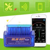 ELM327 v2.1 Bluetooth Android OBD2 Scanner Adapter OBDII Diagnostic Tool TORQUE