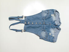 Womans Juniors Almost Famous Overall Shorts Size 9 #17002498