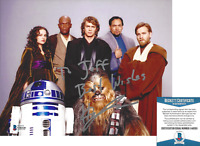 HAYDEN CHRISTENSEN SIGNED 'STAR WARS 3' ANAKIN 8x10 PHOTO BECKETT COA BAS