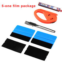 1 Set Car Vinyl Wrapping Tools Kit Pro Window Tint Tuck Gasket Squeegee UK SHIP