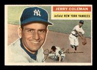 1956 Topps Set Break # 316 Jerry Coleman EX-MINT *OBGcards*