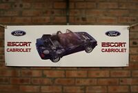 ford escort    mk3 Cabriolet large pvc banner  garage  work shop   banner