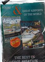 Civil Aviation Value Pack 2 Magazines Great Airports of the World & Boeing 747