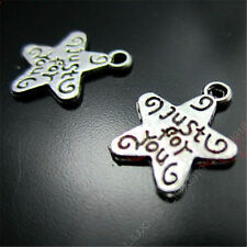 20x Tibetan Silver Star (just for you) Pendant Charms Jewellery Accessories /96