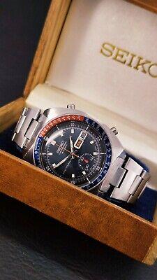 ·mr_wristwatches· Rare Seiko Pogue François Cevert 6139 6001 water70mresist BLUE
