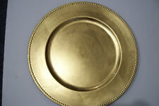 """Very Rare Amscan Inc. Charger 14"""" Plate #430368"""