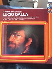 """LUCIO DALLA """"4 MARZO E ALTRE STORIE"""" VINILE LP eccellente"""