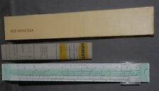 EXTRA CLEAN MINTY VEB MANTISSA EAST GERMAN SLIDERULE IN CASE
