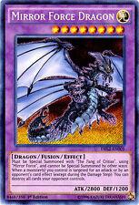 Yugioh: 1x Mirror Force Dragon - DRL2-EN005 - Secret Rare - 1st Edition - Near M
