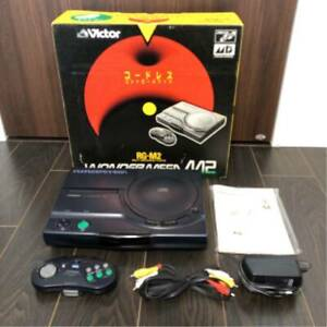 Victor Wonder Mega RG-M2 Sega Mega Drive Box From Japan