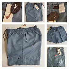 Vintage Andre Agassi línea X Nike Nylon Tenis Pantalones Cortos Original Década de 1990 nuevo para hombre L